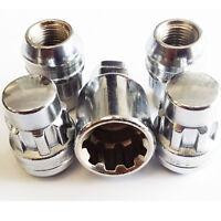 Alloy Wheel Steel Locking Wheel Nuts set 12x1.5 fits Corolla Mr2 Supra Rav4