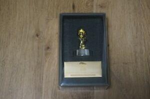 Rare Club Nintendo Platinum Member Memorial Gold Mario Figure Statue