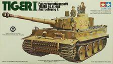 Tamiya 1:35 Pz.Kpfw.VI Tiger I Sd.Kfz.181 Ausf.E Plastic Model Kit #MM156A