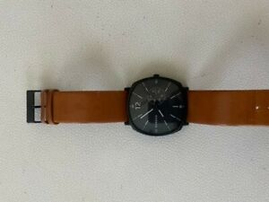 Skagen men's watch used beige band