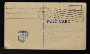 1943 WW2 Handi Service Man's Postcard Private's correspondence going to War