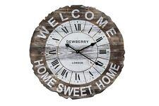 Orologio Rotondo Grande Con Scritta Welcome Home Sweet Home 66 cm