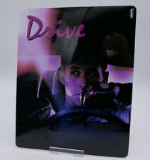 DRIVE ryan gosling - Glossy Bluray Steelbook Magnet Cover (NOT LENTICULAR)