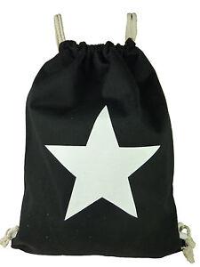 Sports Bag Gym Bag Backpack Bag Gymbag Drawstring Bag Gymsack Star 1605
