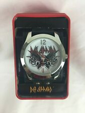 Def Leppard Adult Watch New in Tin