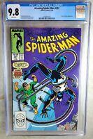 Amazing Spider-Man #297 Doc Oc Marvel 1988 CGC 9.8 NM/MT White Pages Comic Q0005