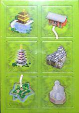 Carcassonne Mini-Erweiterung Klöster / Tempel in Japan - Japanese Buildings
