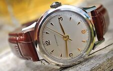 LONGINES CALIBRE 23ZN MILITARY STYLE GENTS VINTAGE WATCH c1950's-WOW!