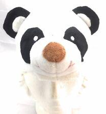 Toddlers Children Winter Soft Plush Animal Face Custom Beanie Hat White Panda
