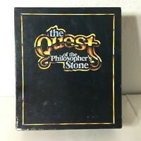 The Quest of The Philosopher's Stone Board Game 1986 Questone Marketing 100% GUC