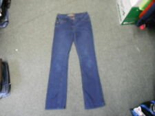 "Cherokee Bootcut Jeans Size 10 Leg 30"" Faded Dark Blue Ladies Jeans"