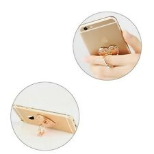 Rose Gold Pop Up Crystal Ring. Metal Phone IPhone grip holder. 360 Socket.