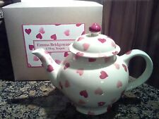 emma bridgewater pink hearts 4 mug teapot new