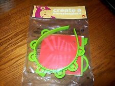 Wendy's Create a Monsterpiece Monster Headband  Kids Meal Toy NIP