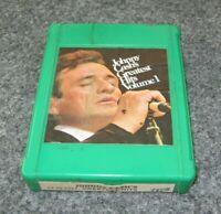 Johnny Cash's Greatest Hits V 1 4 Track Green Tape Cartridge Rare TC4 14 10 0264