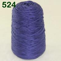 Sale New 1Cone 400g Soft Worsted Cotton Chunky Super Bulky Hand Knitting Yarn 24