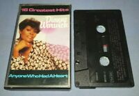 DIONNE WARWICK ANYONE WHO HAD A HEART 16 GREATEST HITS cassette tape album T7433