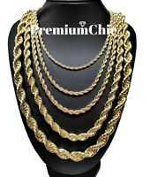 Ankh Statement Necklace 7.5\u201d pendant w36\u201d Chain Reversible Handmade Hip Hop New.