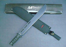 Mtech Fixed Blade Knife Machete MT-20-07C With Compass in Handle Nylon Sheath