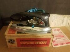 Vintage General Electric GE F49-9480-312 Spray Steam & Dry Travel Iron
