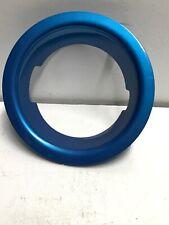 2008-2013 MINI COOPER S Fuel Filler Cap Trim Ring OEM 2751980 Blue