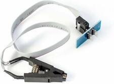 Testklammer für SOIC8 SOP8 ICs mit Kabel und Adapterboard EEPROM Attiny PIC BIOS