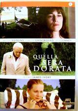Dvd Quella sera dorata di James Ivory 2009 Usato