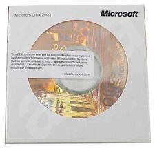 Office 2003 PRO (CD + licence) Logiciel d'origine Microsoft  Licence commerciale