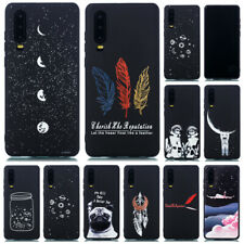 Painted Case Slim Soft Silicone Cover For Huawei P30 Lite P20 Pro P Smart Z 2019