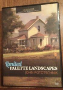 John Pototschnik limited palette Landscapes Oil Painting DVD Art Instruction 15H
