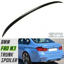 BMW F30 F80 4D SALOON M3 TYPE REAR BOOT TRUNK SPOILER WING 320i 316i