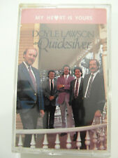 Doyle Lawson & Quicksilver-My Heart Is Yours-Album Cassette Tape Used very good