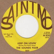 Sounds Four Keep On Lovin Saintmo 8202 Soul Northern motown