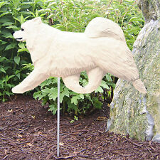 Samoyed Outdoor Garden Dog Sign Hand Painted Figure