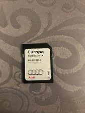 Carte SD Navigation Europa D'origine Audi Version 2014 Ref:8V919866 B