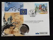2 EURO NUMISBRIEF  SAN MARINO 2007 SELTEN RAR