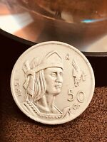 1951 Mexico 50 Centavos Better date coin