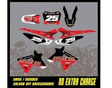 Rebound graphics kit to fit HONDA CRF 50 70 110 PITBIKE