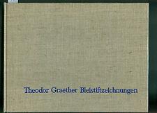 Theodor Graether Bleistiftzeichnungen 1966 Patienten Arzt Kur Gesundheit