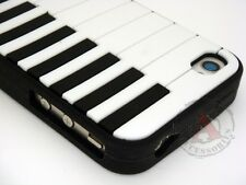 Piano Rubber SILICONE Skin Soft Gel Case Cover for Apple iPhone 4 4S