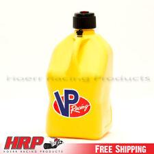 VP Racing Fuels Yellow 5 Gallon Square Multipurpose Jug Gas Can Fuel Jug