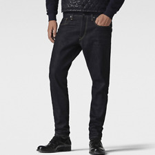 G-Star Raw 3301 Jeans rectos en RAW Oxford Denim-UK 36/32