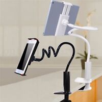 Flexible Long Arms Lazy Stand Clip Holder Mobile Phone Tablet iPad Desktop Bed