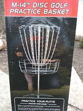 NEW IN BOX M-14 Dics Golf Practice Basketor Freebie throw