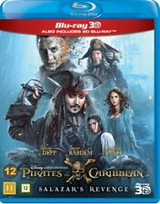 Pirates Of The Caribbean: Salazar'S Revenge (3D Blu-Ray) [Danish Im. BLU-RAY NEW