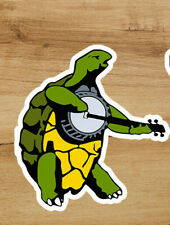 Grateful Dead Banjo Turtle Premium Deadhead Sticker 3 in Jerry García
