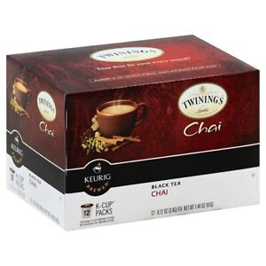 Twinings Of London Chai Black Tea Keurig K-Cups