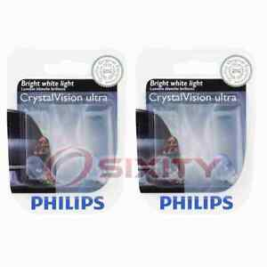 2 pc Philips Front Side Marker Light Bulbs for BMW 318i 318is 318ti 320i lz