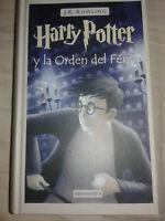 HARRY POTTER Y LA ORDEN DEL FENIX DE J.K. ROWLING LIBRO 1ª EDICION COMO NUEVO