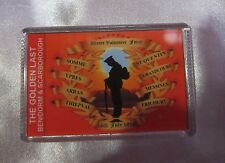 Fridge magnet Loyalist Lest We Forget  Golden Last  Ulster